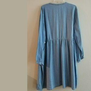 Old Navy Dresses - XXL Old Navy Tencel Pintuck Swing Dress NWT